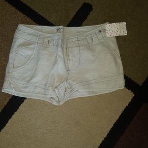 Free People Shorts - Free People khaki shorts 6 NWT
